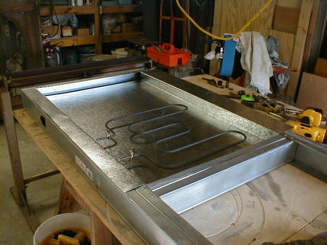 DIY Powder Coat Oven Construction Page