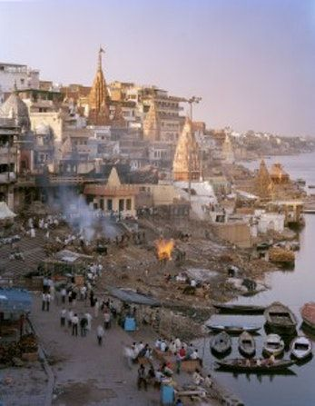 Join us for a powerful look into India's holiest city