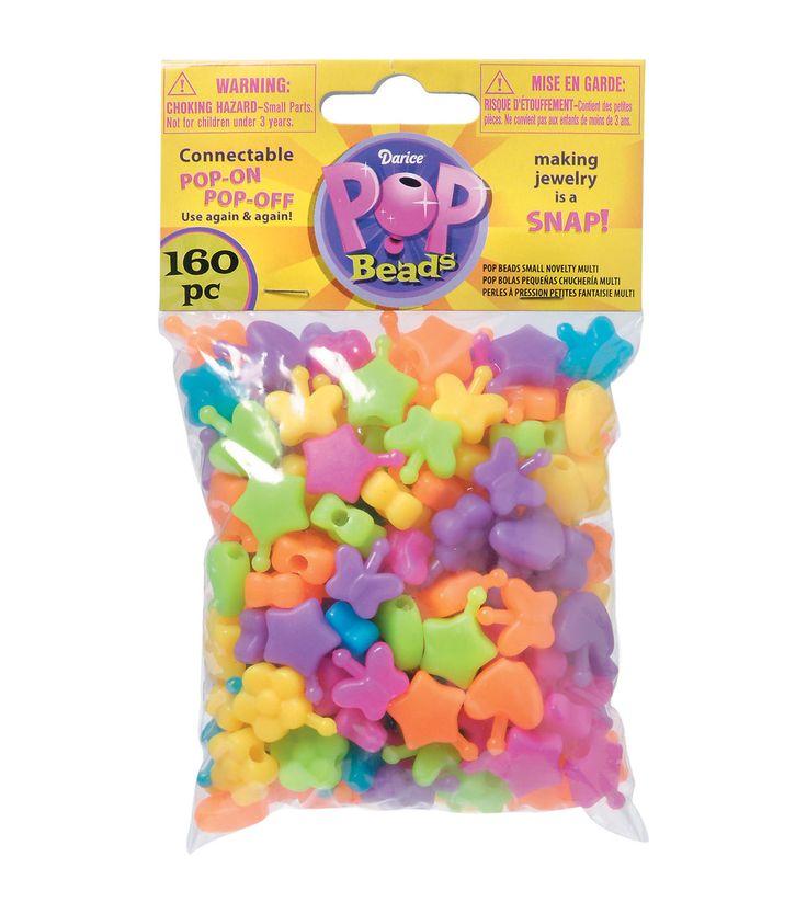 Pop Beads 160/Pkg - Novelty