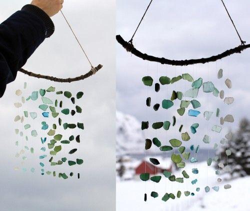 Sea glass Suncatcher