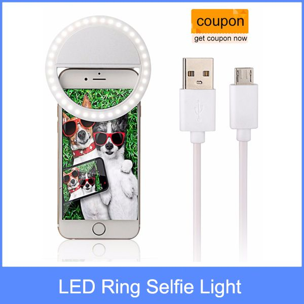 >> Click to Buy << Smartphone LED Ring Selfie Light Supplementary Lighting Night Darkness Selfie Enhancing Photography for iPhone 5s 6 6s Plus etc #Affiliate