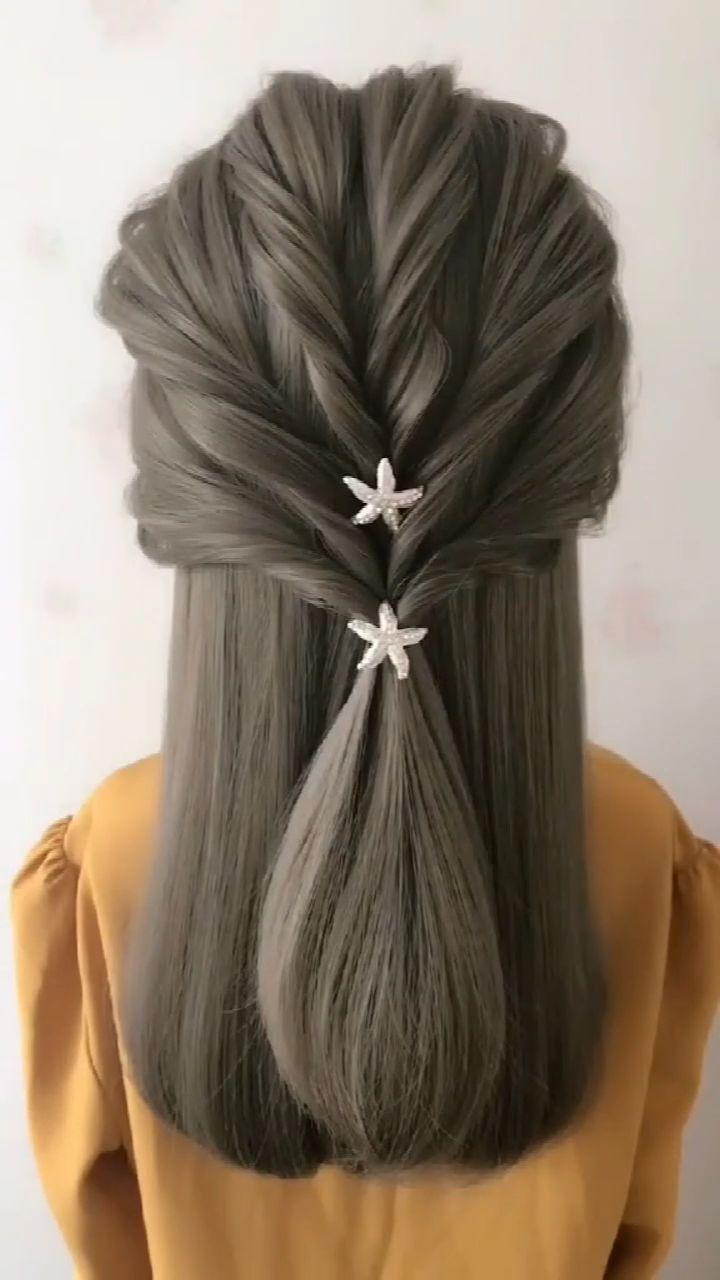 ✔ Hairstyles Videos With Clips Simple #hairstylesforgents #hairstylesandhair #hairstylesforlittlegirls