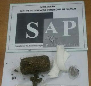 Jenis de Andrade: Visitante surpreendida com droga na genitália no CDP Suzano-SP.