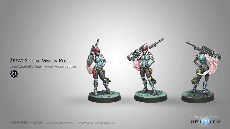 Zerat Special Mission Reg. (MULTI Sniper Rifle)