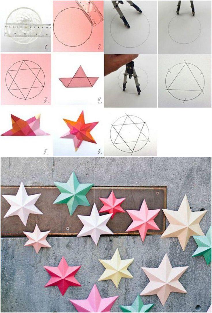 Origami de Noël – 6 idées avec des instructions de pliage