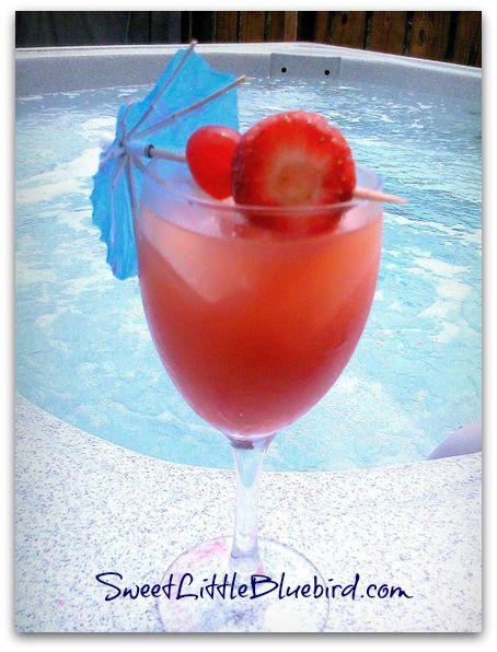 Motion by the Ocean Recipe - {Peach Schnapps, Creme De Cassis Liqueur, Vodka, Orange Juice, Cranberry Juice, Orange Slice & Maraschino Cherry} So good!