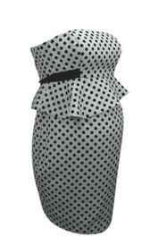 *New* A Pea In The Pod Collection: Donna Morgan Strapless Peplum Maternity Dress (M)