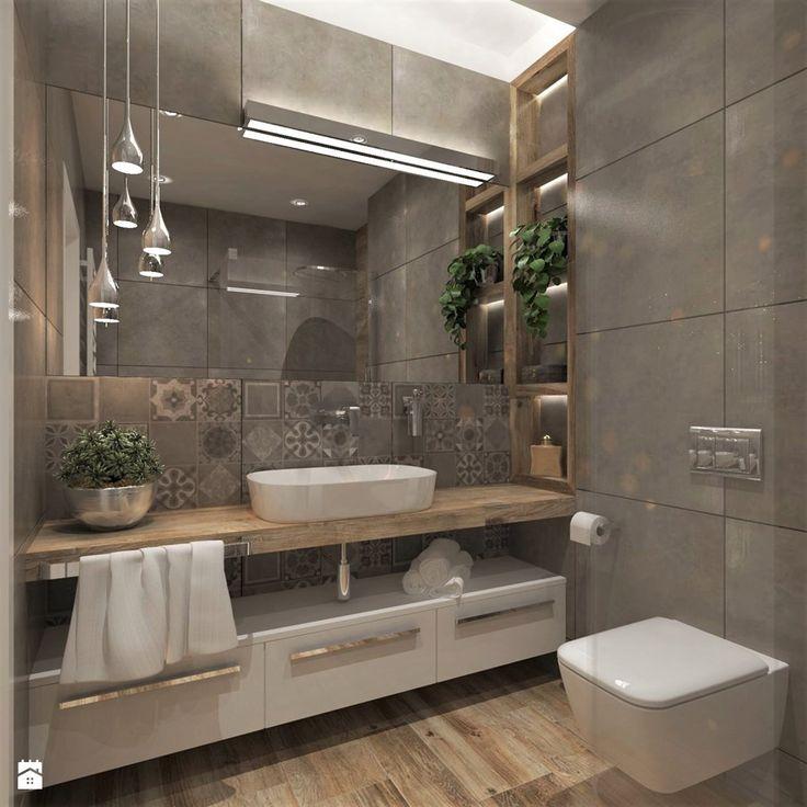 Mieszkanie Dla Młodych :) - Łazienka, styl nowoczesny - zdjęcie od Inside Outside Design