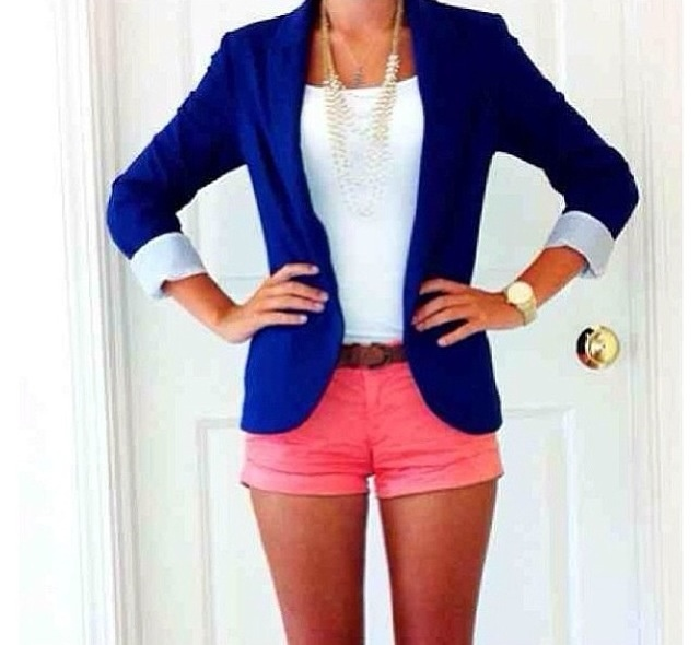 Top 25 ideas about Royal Blue Blazers on Pinterest | Blue blazer ...