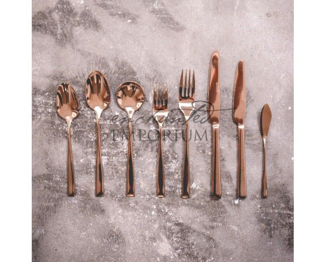 Copper Cutlery Hire | Enchanted Emporium Copper cutlery is the newest and by far the most awe inspiring wedding and event cutlery available.