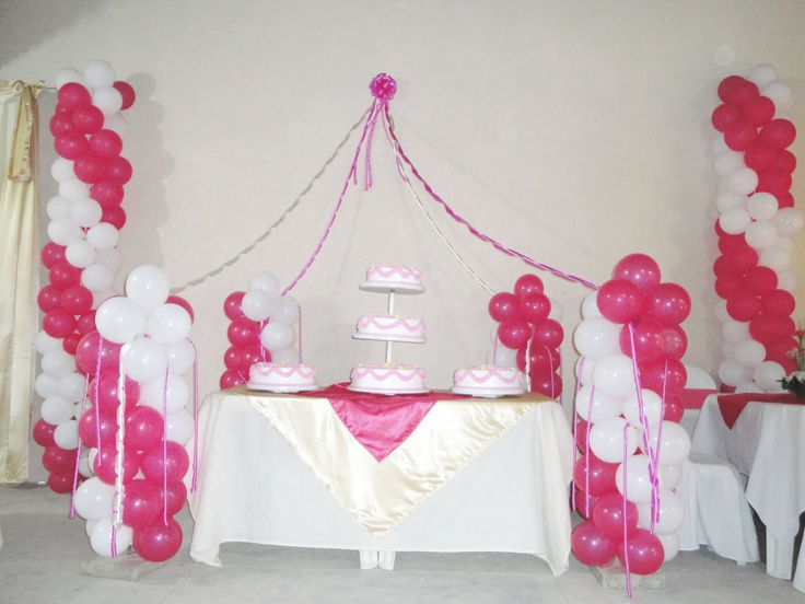 18 best images about quince on pinterest discover more for Globos para quinceaneras