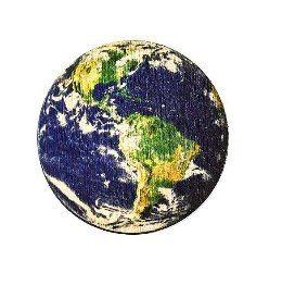 Деревянный значок Земля #wafwaf #wafwafgoods