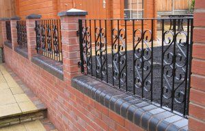 From A Basic Design To Highly Complex And Ornate Designs. Garden Gate Design on Iron Fence Designs Wrought ...