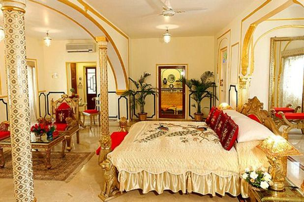Maharajah's Pavillion at the Raj Palace Hotel, Jaipur, India Price per night: $45,000  The 10 most expensive hotel suites in the world