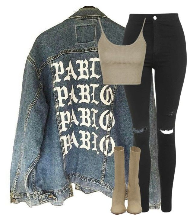 Untitled #325 by pariszouzounis on Polyvore featuring polyvore fashion style Topshop YEEZY Season 2 clothing