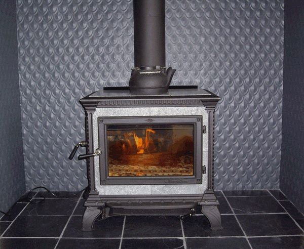 Pressed Tin Panel Fireplace I Love This Effect