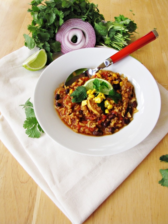 Chili-Chicken Stew with Black Beans and Rice | Food Bucket List ...