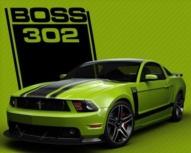 The Green Monster Boss 302 Stang Cool Cars 2017 Ford Mustang Motorcycles