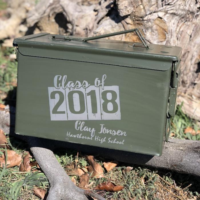 Graduation Metal Box - Class of 2018