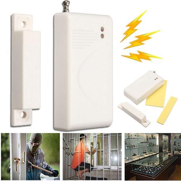 315mhz Wireless Door Window Cabinet Entry Security Magnetic Switch Sensor Alarm