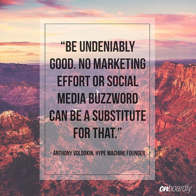 Be undeniably good. Simple as that. #quotable #AnthonyVolodkin #quote #motivation