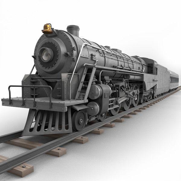 CGI - $189 - 3ds max realistic berkshire steam locomotive - Berkshire Steam Locomotive... by Marketing Arts Group