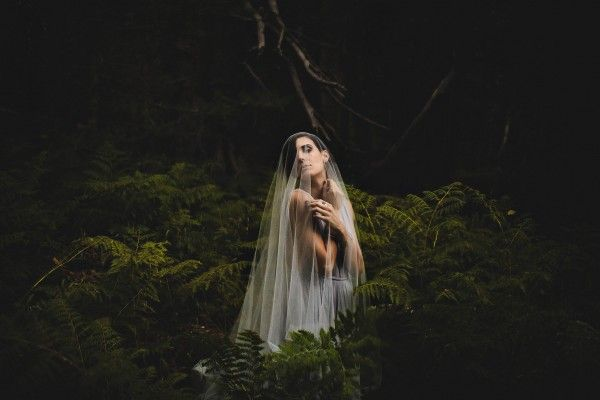 nighttime woodland styled shoot - Google Search