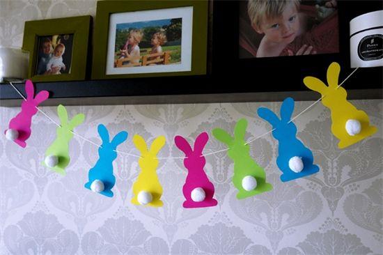 Guirlande Lapins de Pâques