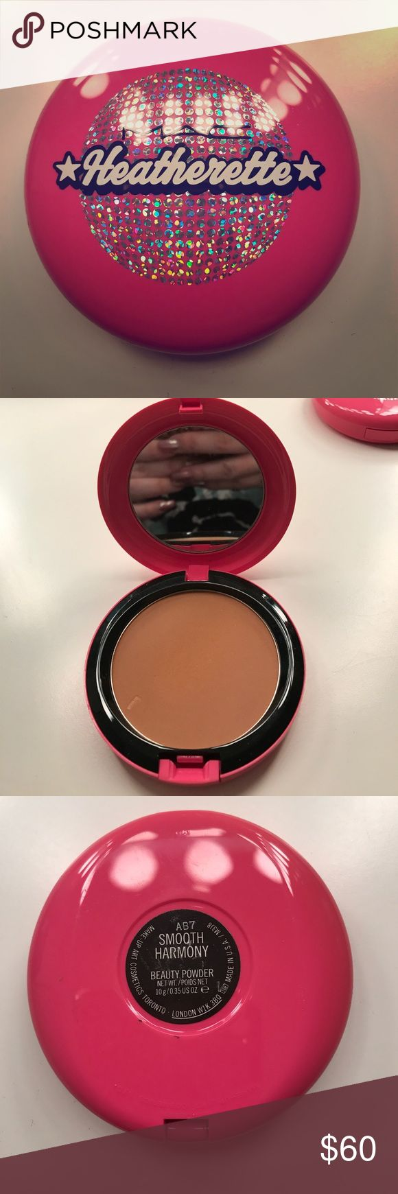 "MAC Heatherette ""Smooth Harmony"" Beauty Powder MAC Heatherette ""Smooth Harmony"" Beauty Powder Limited Edition. No Box MAC Cosmetics Makeup Bronzer"