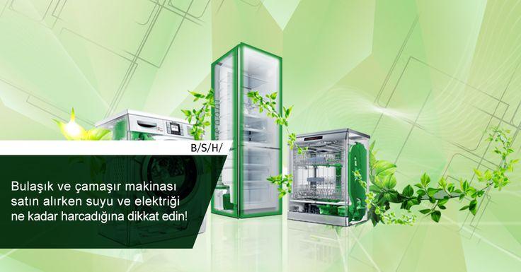 Bulaşık ve çamaşır makinası satın alırken suyu ve elektriği ne kadar harcadığına dikkat edin! #BSH #TasarrufÖnerileri