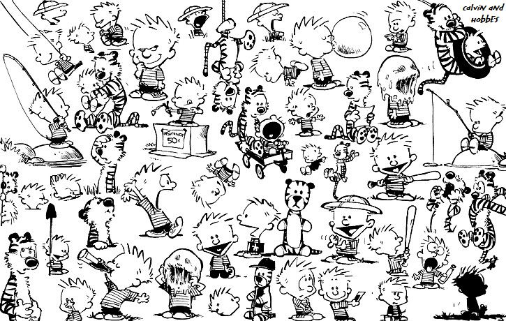 Calvin & Hobbes Stuff
