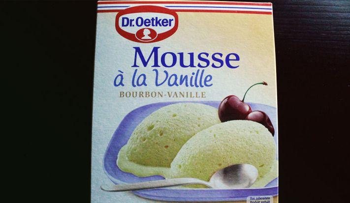 Mousse à la Vanille – von Dr. Oetker – mit kalter Milch zuzubereiten