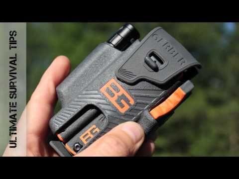 NEW - Gerber Bear Grylls Survival Tool Pack Review - Best Multi-Tool Flashlight & Fire Starter Kit? - YouTube