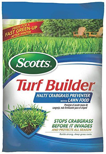 Scotts Turf Builder Lawn Fertilizer with HALTS Crabgrass Preventer  14 lb 32367 ** Be sure to check out this awesome product.