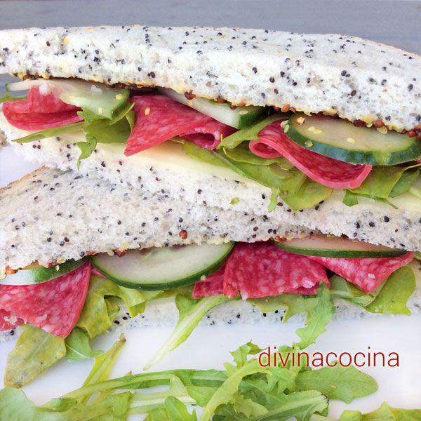 Aquí tienes muchas ideas para preparar sencillos sándwiches rápidos con embutidos por si tienes que improvisar un picoteo o una cena para todos.