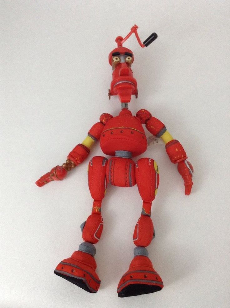 2004 Mattel Robots Movie 13 Quot Red Fender Pinwheeler Vinyl
