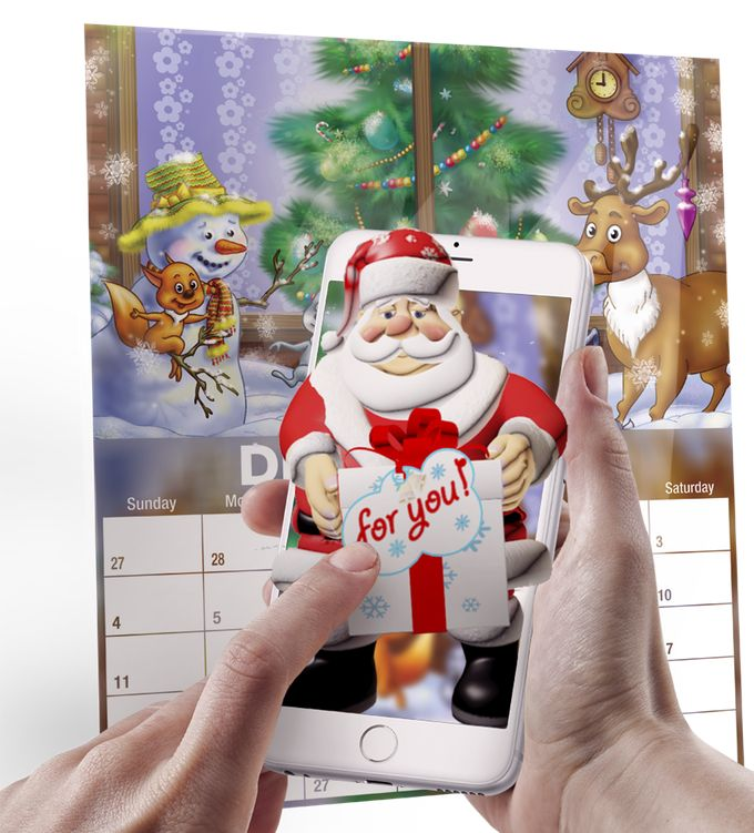 Magical 2016 Augmented Reality Calendar in 4-D by Yury — Kickstarter