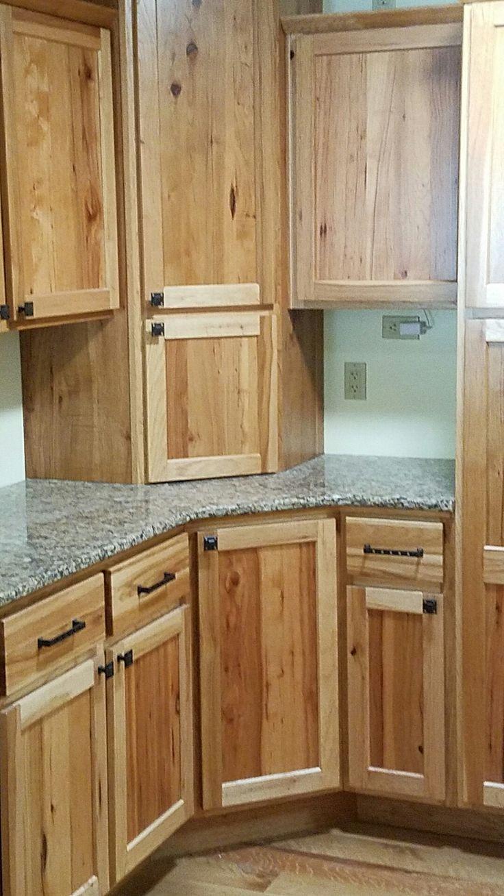 Custom Hickory Cabinets And Cambria Quartz Countertops In