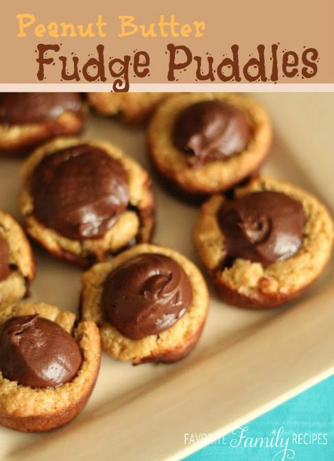 ... Butter Fudge Puddles | Recipe | Peanut butter, Cookies and Butter