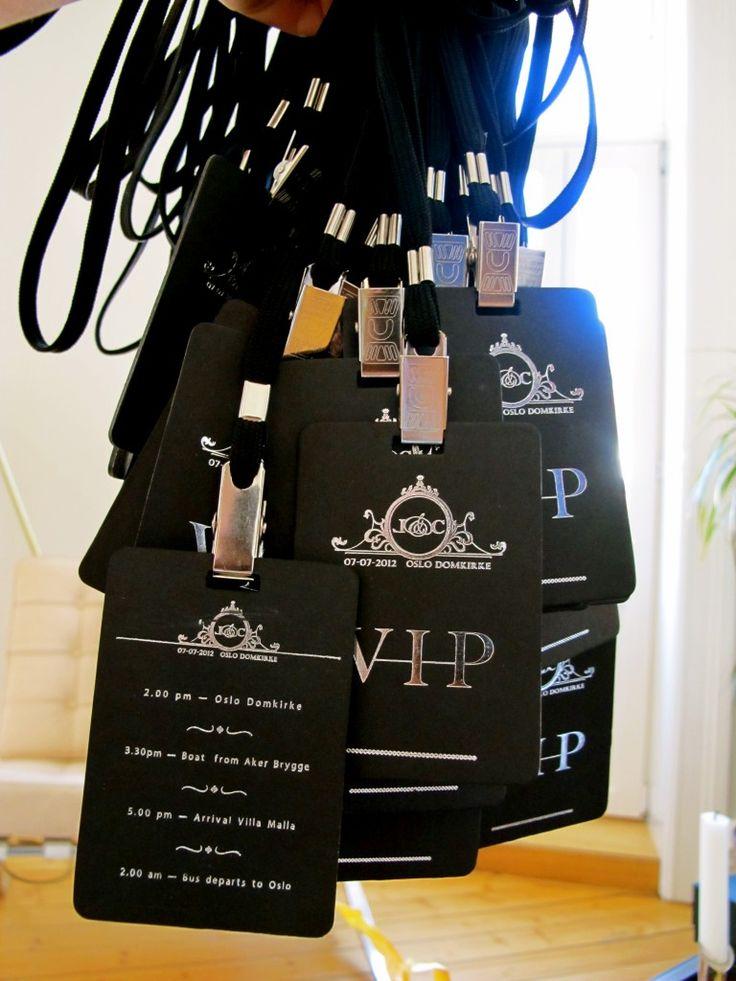 Too cool! #VIP #Wedding #Schedule
