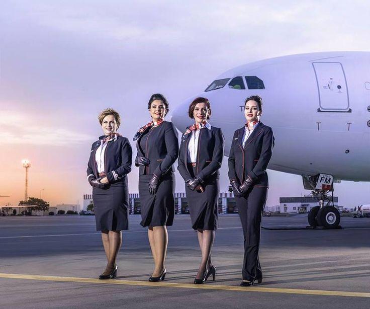 Tunisair présente un nouvel uniforme pour son personnel féminin