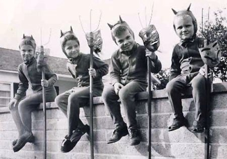 vintage halloween~some one thought highly of their kids