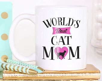 Cat Mug - Coffee Mug - Cat Lovers Gift - Cat Mum - Gift For Her - Gift For Wife - Stocking Filler - Coworker Gift - Cat Lady - Gift For Mum