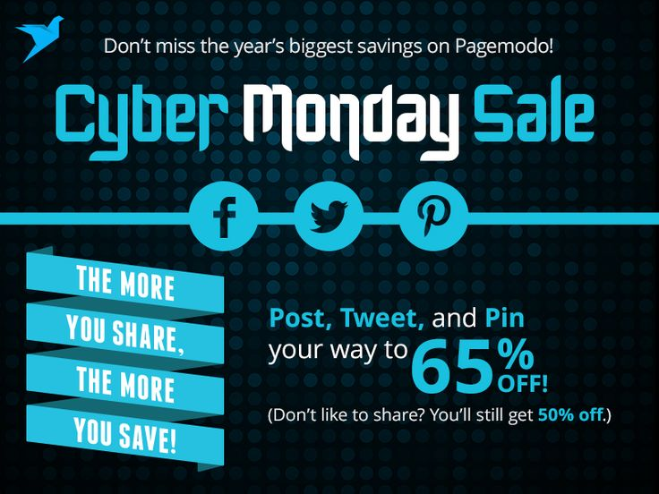 Schedule posts, create graphics, run contests, and customize your Facebook page - up to 65% off through 12/3/14. #PagemodoCyberMonday
