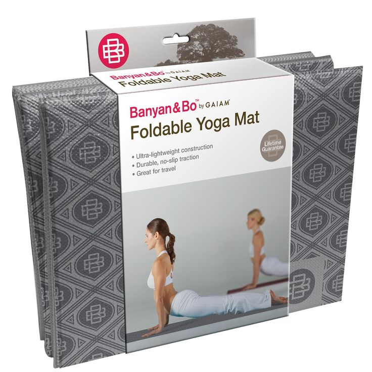 Fold it up and pack it in your luggage! The fold up yoga mat is a no-slip stability mat is perfect for the traveling. When you're finished with your flow this mat folds down into a slim packable squar