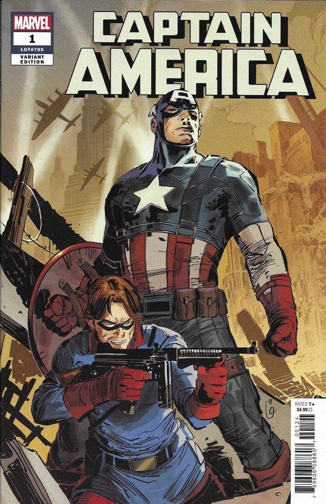 CAPTAIN AMERICA #4 2018 NM MAXX LIM MARVEL BATTLE LINES VARIANT COVER