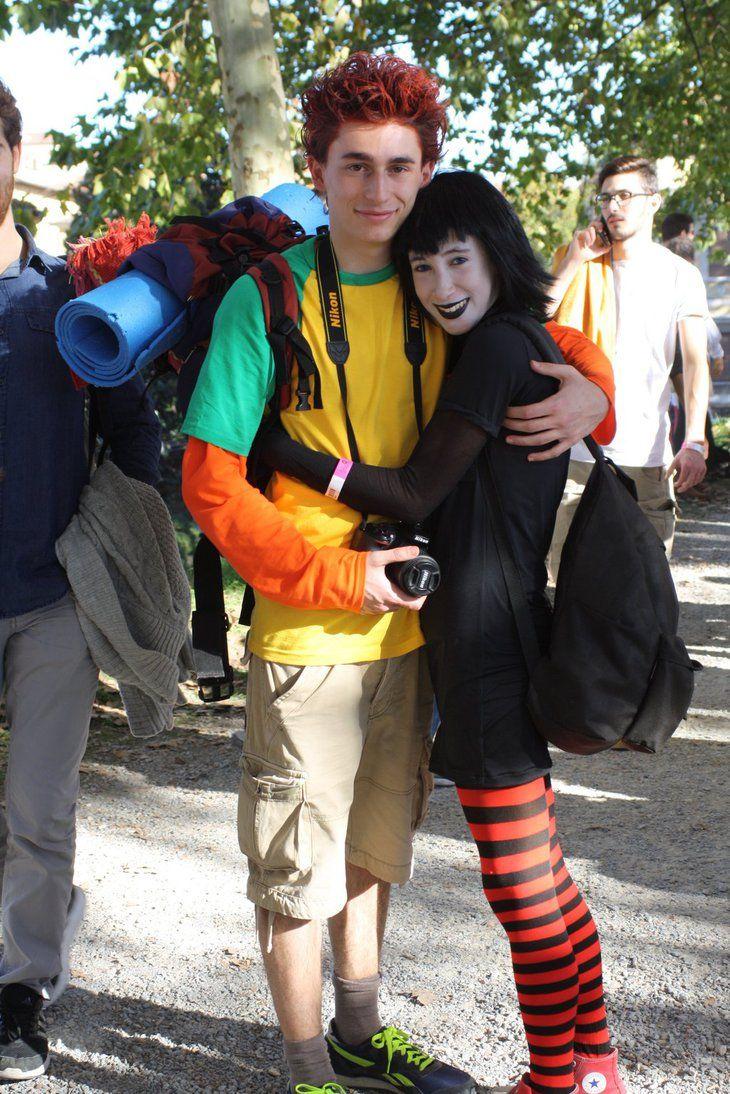 Hotel Transsilvanien Mavis & Jonathan Kostüm selber machen | Kostüm Idee für Paare zu Karneval, Halloween & Fasching