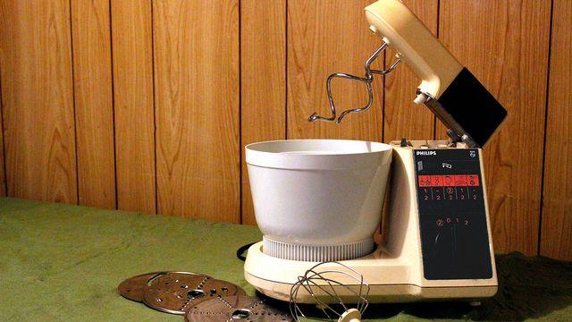 Philips Ahkera 1980-luvulta. Äidille ostettiin porukalla 60v. syntymäpäivälahjaksi.