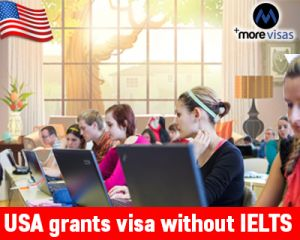 Planning to #StudyAbroad? But, not acquiring relevant #IELTS score? Well, Here you know that #USA grants visa without IELTS in top Universities...