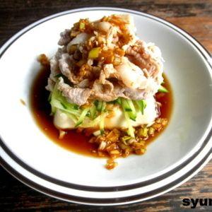 【簡単!!】豚しゃぶ乗せ豆腐ステーキねぎ酢醤油だれ by 山本ゆりさん   レシピブログ - 料理ブログのレシピ満載! きてくださってありがとうございます! ・・・・・・・・・・・・・・・・・・・・・・・・・・・・・・・・・・・・・・・・・・・・・・・・・・・・・・・・・・・・・・・・・・・・・・・・・・・・・・・・...